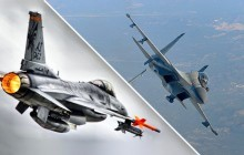 Comparison of Top Guns : America's F-16 vs India's Su-30 MKI