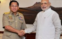 India, Myanmar review defence, security ties