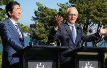 Japan, Australia to strengthen defence ties, stress importance of TPP