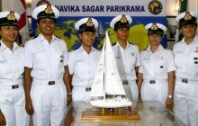 After 8 Months at sea, All-Women Navy Crew on Board INSV Tarini Set to Return on Monday