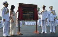 Navy chief Admiral R K Dhowan commissions INS Vishwakarma