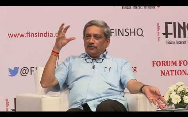 Dialogue with Raksha Mantri Shri Manohar Parrikar