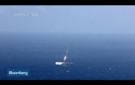 SpaceX Falcon 9 Rocket Fails to Land on Barge