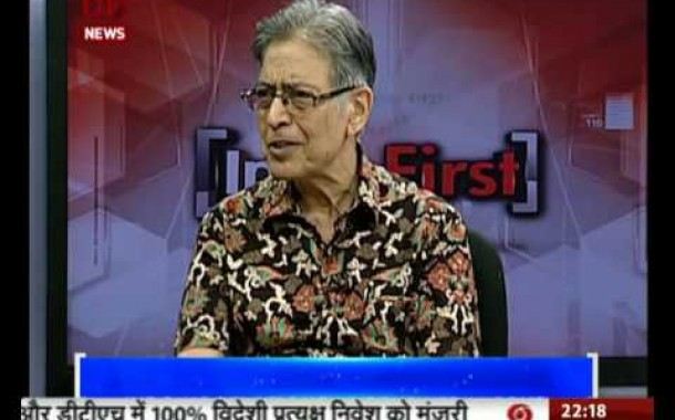 India First on DD News: Discussion on Indo-US relations