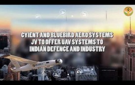 Cyient and Bluebird Aero Systems sign JV to offer UAV systems to Indian Defence & Industry