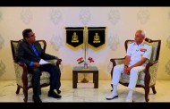 Chief of the Naval staff Admiral Sunil Lanba in conversation with Nitin A Gokhale
