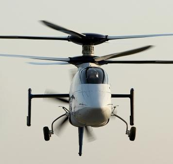 Sikorsky's X2 co-axial compound helicopter Picture Courtesy: Defence Review