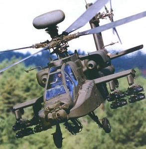 Apache Attack Helicopter Picture Courtesy: airforce-technology.com