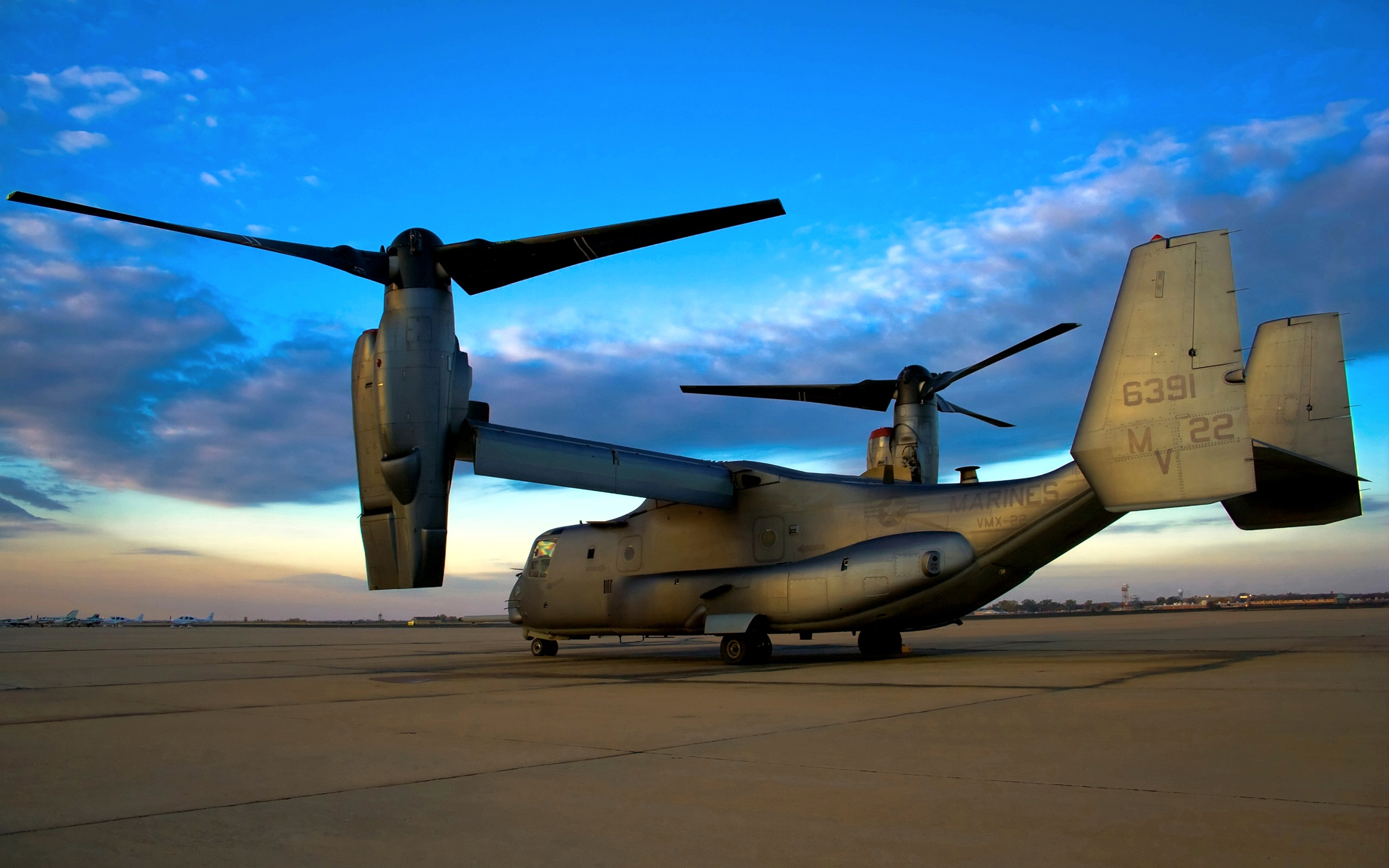 Bell- Boeing V22 Osprey Picture Courtesy: hdwallpapers.com