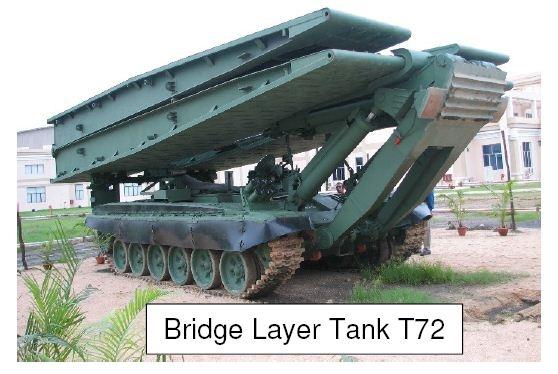 Bridge Layer Tank T72 L&T