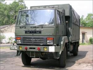 Caravan for Army by OFB Jabalpur Image Courtesy: en.wikipedia.org