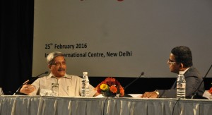 Q&A with Union Defence Minister manohar Parrikar, moderated by Nitin A Gokhale