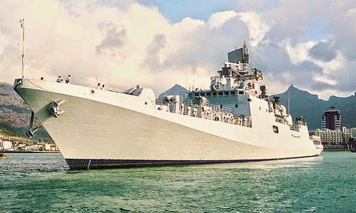 Russian keen to manufacture Naval Stealth Frigates in India