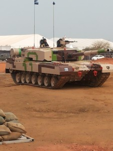 Display at DefExpo 2016, Goa