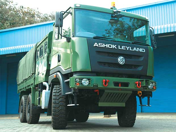 Ashok Leyland sets its sights high in defence