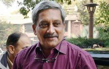 Manohar Parrikar Arrives In Shanghai On First Visit To China