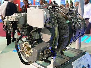 HAL/Turbomeca Shakti turboshaft engine Image Courtesy: Wikipedia