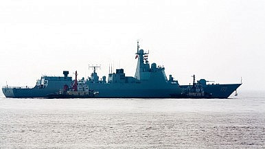 China's Navy Conducts South China Sea Drills Involving Paracel and Spratly Islands