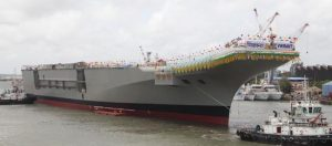 Vikrant, India's first aircraft carrier