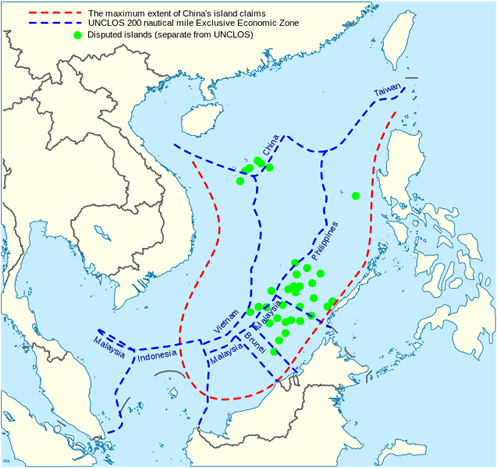 Disputed South China Sea englishonline