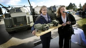 Archer Systems being delivered to the Swedish Defence Materiel Administration