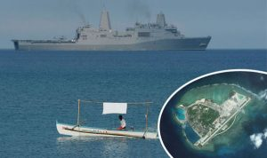 US warship patrols near South China Sea (Image Courtesy: Express.co.uk)