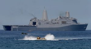 China conducting a maritime drill (Image Courtesy: Sputnik News)