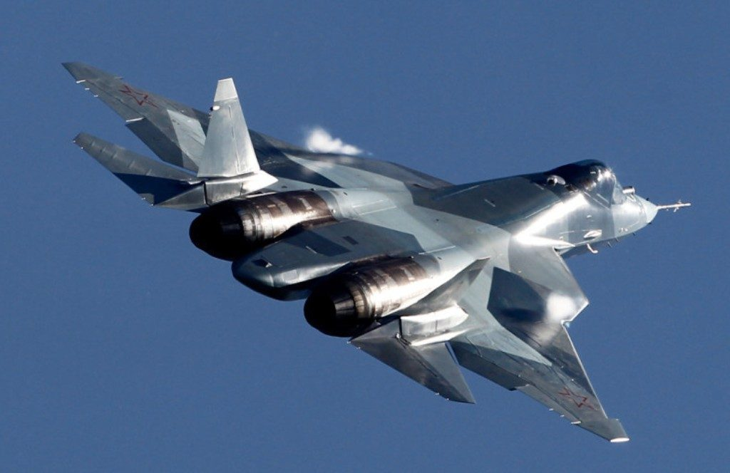 Sukhoi PAK FA Fifth Generation Fighter (Image Courtsey: globalmilitaryreview.blogspot.com)