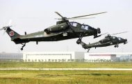 Chinese military equips all ground forces with new attack helicopters