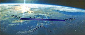 Zephyr Solar Powered HALE UAV, UK (Image Courtesy: airforce-technology.com)