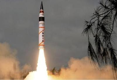 India set to test-fire nuclear capable Agni-V