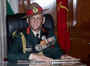 Prepared for a two-front war but want peace: Army chief General Bipin Rawat