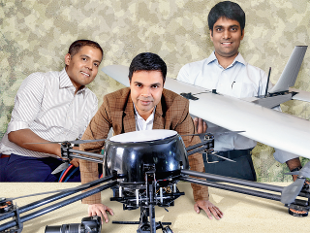 How a bunch of tech-driven ventures are updating India's outdated defence setup