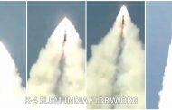 K-4 submarine-launched ballistic missile test on January 31