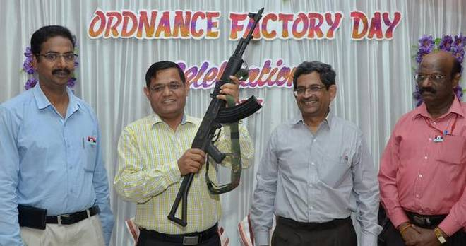 Ordnance Factory develops Assault Rifle