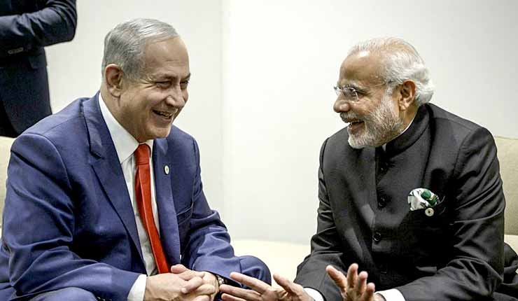 Change of policy? PM Modi will visit Israel, but skip Palestine