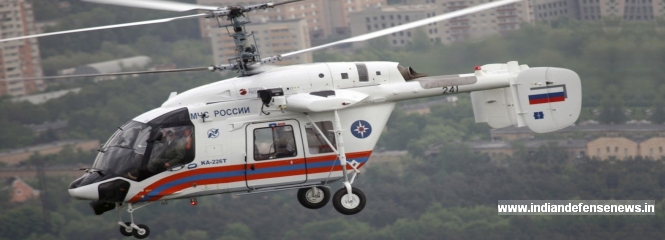 India, Russia Make Progress Toward KA-226T Helicopter Production