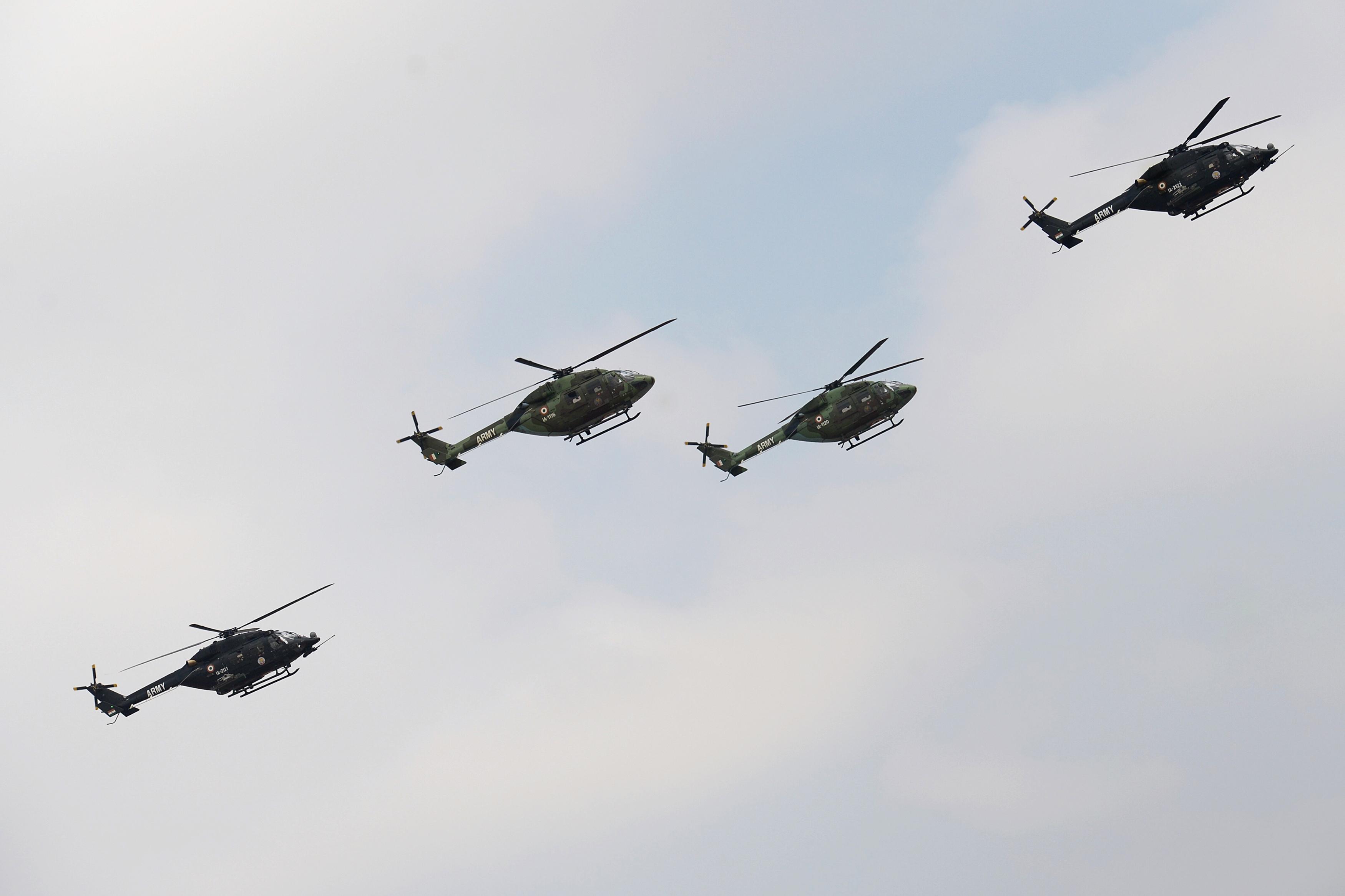 India's Hindustan Aeronautics offers performance guarantee for new helos