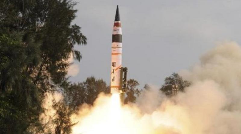 India test fires Agni-II Ballistic Missile off Abdul Kalam Island in Odisha