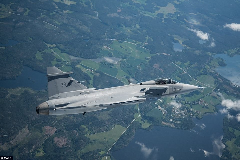 Saab's $85m Gripen E Fighter to Take on the F-35