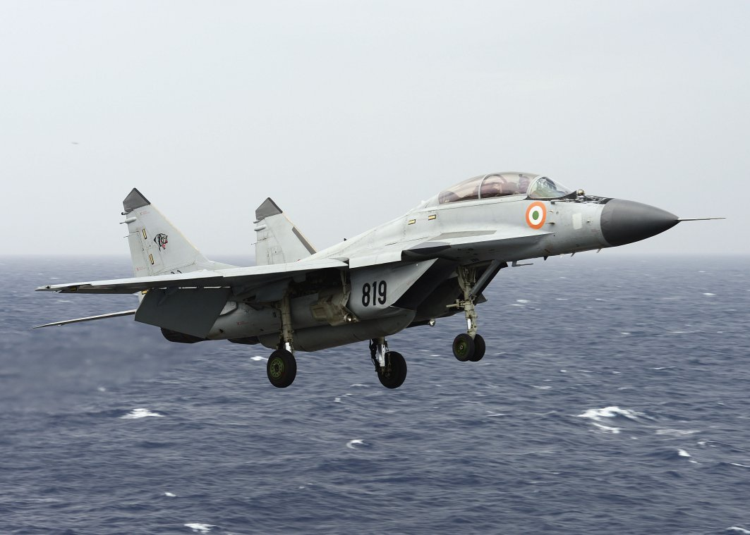 Russia Refutes Claim India Unhappy With MiG-29K Fighters
