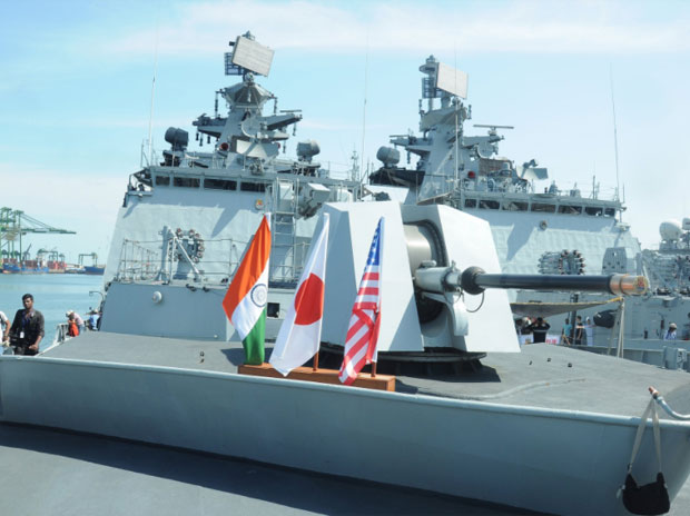 US, Japan Push Delhi For Axis