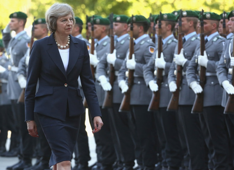 UK Says It May Still Join EU Military Missions After Brexit
