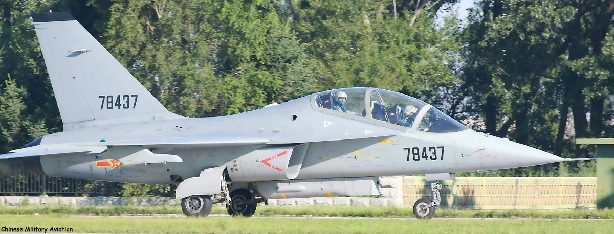 Images Suggest Naval Variant Of China's JL-10 Trainer Has Entered Service