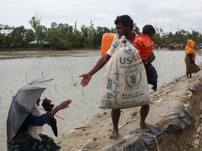 Rohingya Exodus To Bangladesh Nears 300,000