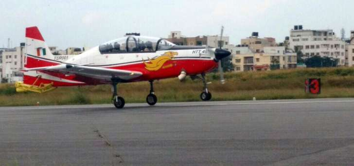Propelled By HAL's Young Blood, HTT-40 Ready For Critical Stall & Spin Tests