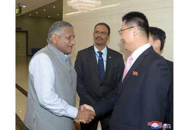 V.K. Singh Makes Surprise Visit to North Korea