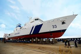 India's First Private Company Manufactured Defense Ship Arrives at Base Port