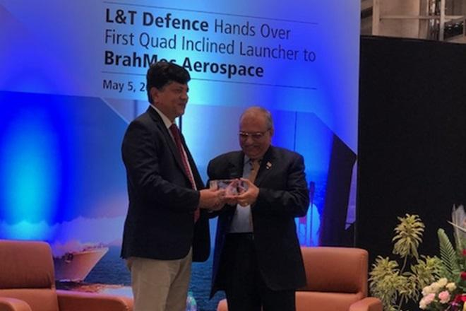 BrahMos Missiles to Get Superior Firepower Quad Launchers From L&T Defence