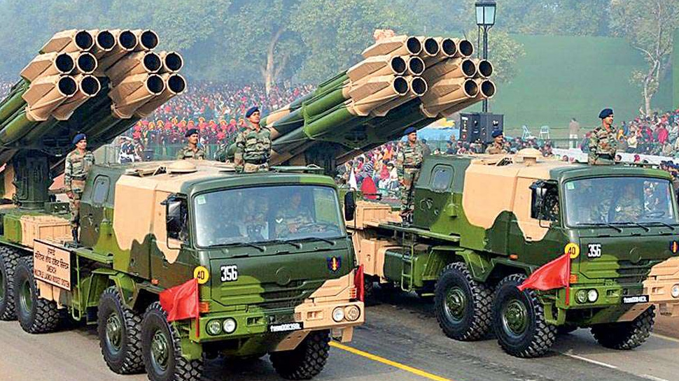 Indian Army Test-Fires Smerch Rockets, Hits Targets 90 km Away